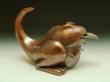 """Tea Wrex"" Copper Teapot by Steve Shelby"