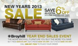 Sofas And Sectionals Year End Sale Banner