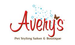 Avery's Pet Styling Salon and Boutique Logo