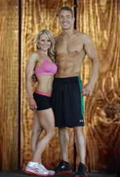 Team RundleFit: Justin and Jessica Rundle.  Also known as your Fitness Family.