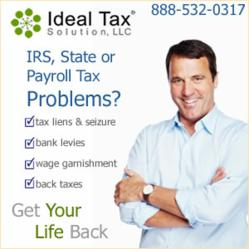 Ideal Tax Solution, LLC We Get Your Life Back!