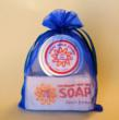 Scent Packs from Goat Milk Stuff have matching scented goat milk soap and soy candle.