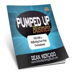 Pumped Up Business Volume 1 Reflecting Your Way To Greatness