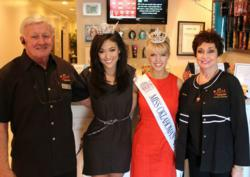 Miss Oklahoma Alicia Clifton at Sunsations Tanning Tulsa