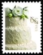 2013 Wedding Cake Stamp unveiled on Friday, January 18 at Noon.