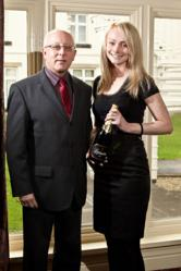 Ellie and John at International Trade Club Awards