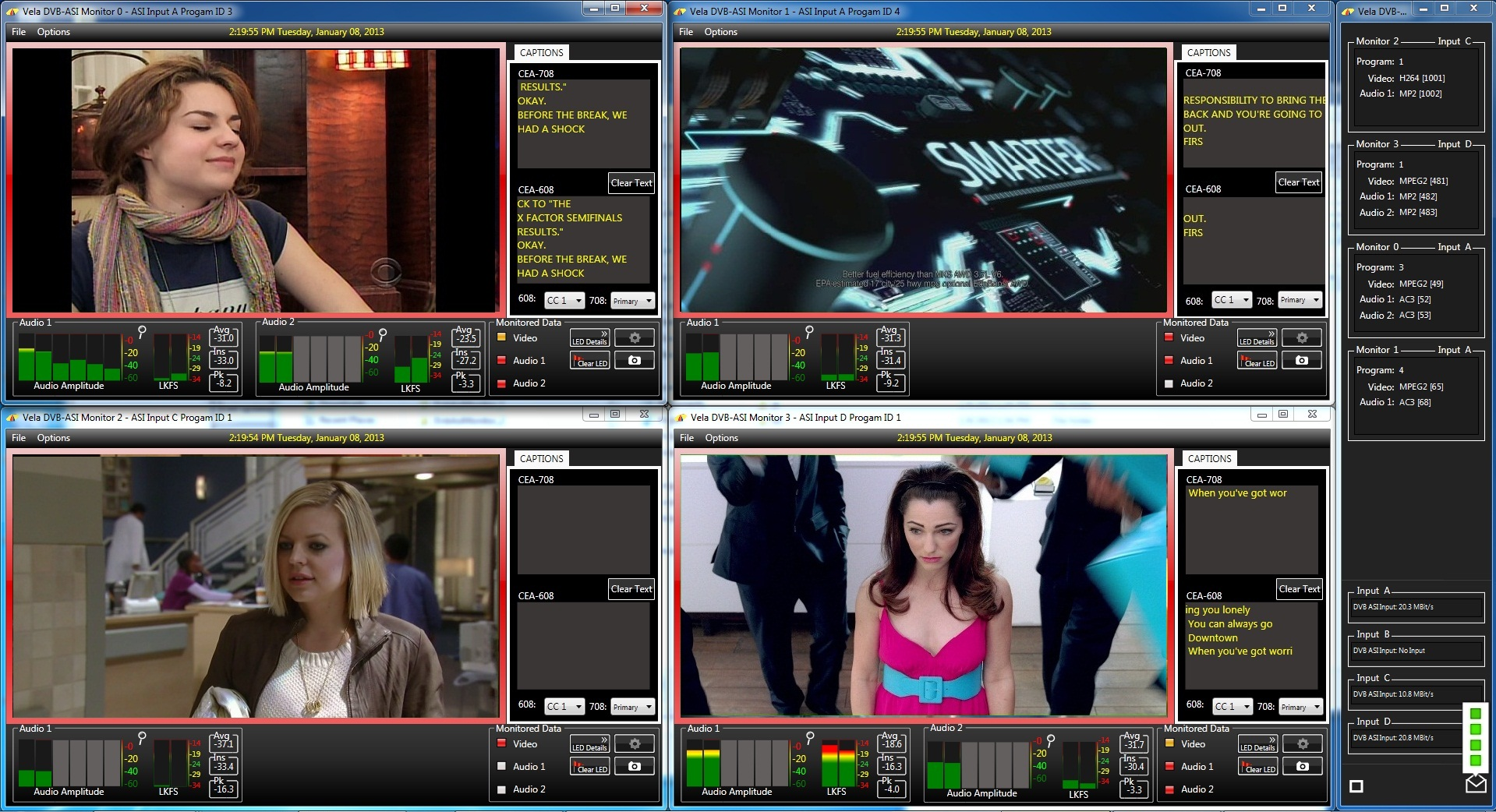 Vela Announces Powerful Multi-ASI input MultiViewer System for CALM