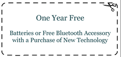 hearing aids in Clarksburg WV - Nardelli Audiology new special offer