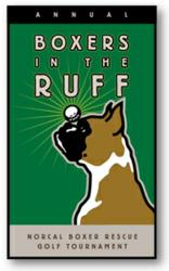 Boxers in the Ruff Charity Golf Tournament