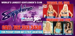 AVN & InterNEXT After Parties at Sapphire Gentlemen's Club