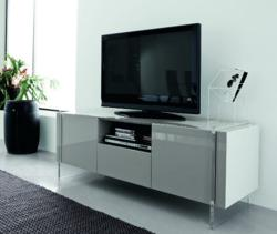 Fly Gray TV Stand From Rossetto