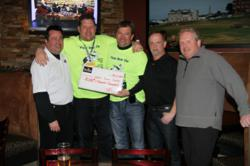 Polar Bear Dip Cheque Presentation at Tin Cup