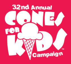 Friendly's 32nd Annual Cones for Kids
