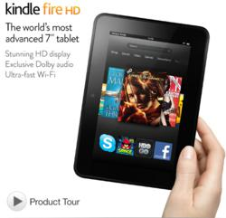 Kindle Fire HD | Best Tablets 2013
