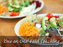 One on one food coaching at Homefield Grange Detox Retreat Wellness and Weight Loss Spa