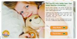 CuddleTunes - Recordable Teddy Bear