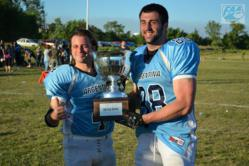 Alton Voss With Help From CM Rehab Center Wins Silver Cup In South American Football League
