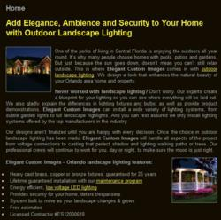 Orlando Outdoor Landscape Lighting