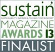 Sustain Awards Finalist in 3 Categories