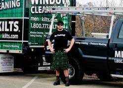 TJ Hale - Men In Kilts New Jersey Window Cleaning Owner