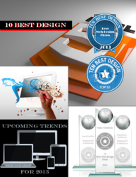 Best Web Design of 2012 Magazine Cover