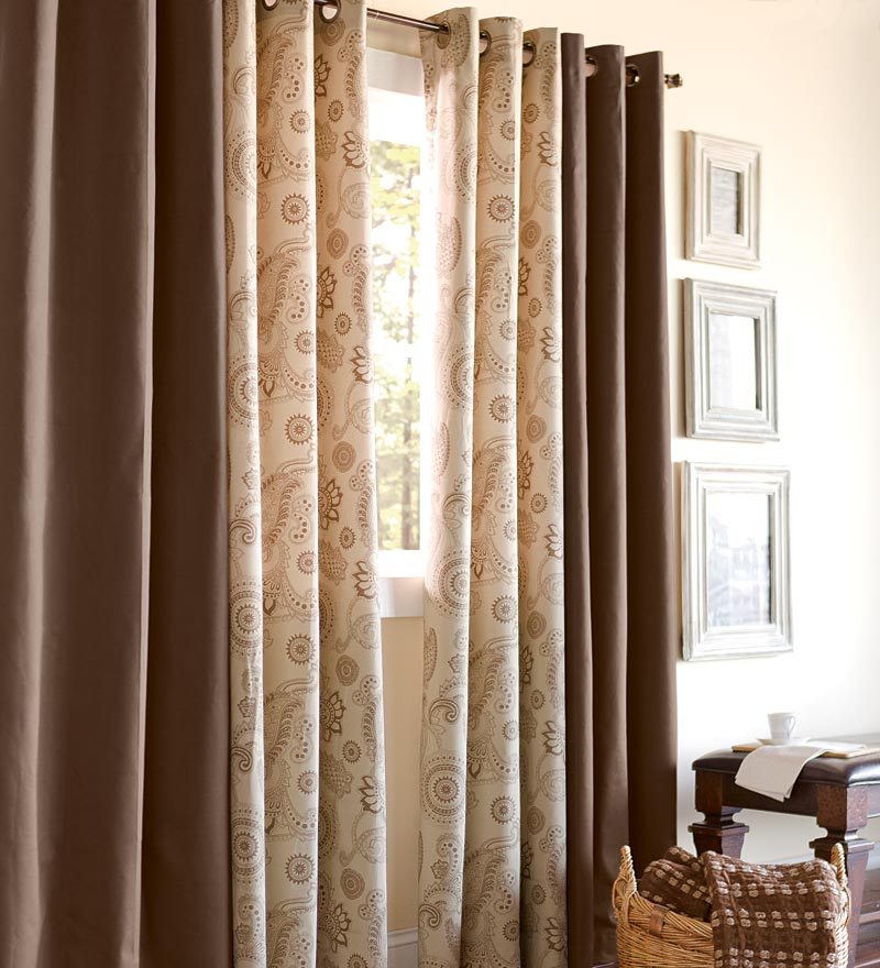 Plow Amp Hearth Suggest Insulated Thermal Curtains To Reduce