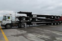 Trailer Wizards' flatbeds are available for rent.