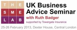 Uk business advice seminar SME Ruth Badger