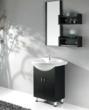 Black Bathroom Vanity With Ceramic Basin From Legion Furniture