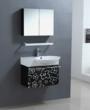 Flower Power Black And White Bathroom Vanity From Legion Furniture