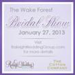 The Cotton Company Hosts a Wake Forest Bridal Show in January