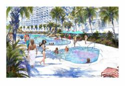Holiday Inn Resort Pool Enhancment Rendering