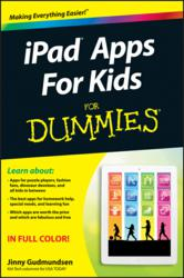 iPad, Apps, Kids, Dummies, Jinny Gudmundsen, book