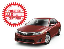 Certfied Pre-Owned Toyota