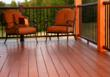 Beautiful, eco-friendly NyloDeck, which is made using recycled carpet fiber and contains no wood or PVC, is the decking material at two Show Village homes at the International Builders Show 2013.
