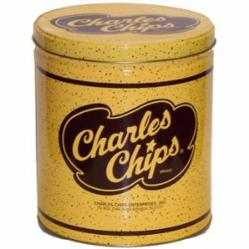 Charles Chips Tin