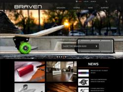 Interactive Agency, EYEMAGINE, creates brand new design for popular bluetooth speaker manufacturer, BRAVEN
