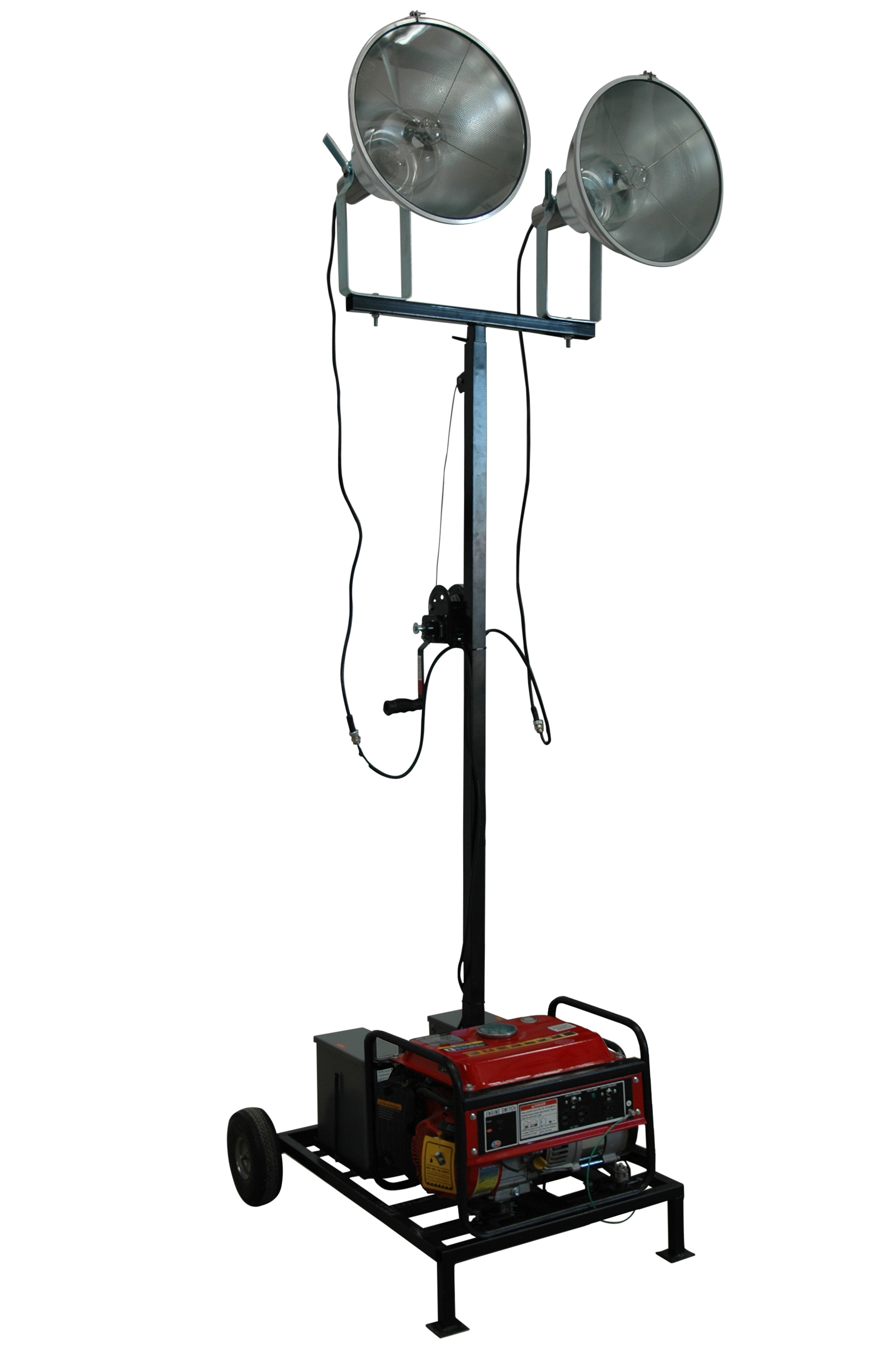 Larson Electronics Announces Release Of Fully Portable Generator Powered Light Tower