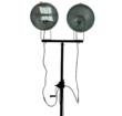 Metal Halide Light Heads on the Larson Electronics Mobile Light Tower