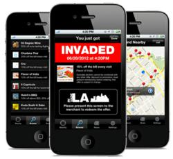InvadeLA Mobile App available on iTunes App Store and Google Play