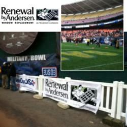 Renewal by Andersen at the Military Bowl
