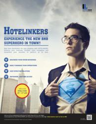Hotelinkers Superhero of Distribution