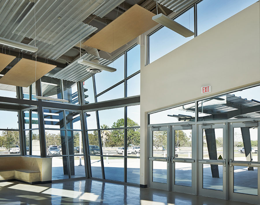 Ceco Metal Building Systems School Project Allows