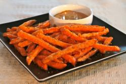 Sweet Sensations sweet potato fries by Trinity Frozen Foods