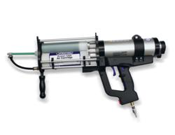 Protal Air Cartridge Gun loaded with Protal 7200 cartridge, ready to spray.