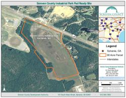 Recently GRAD certified site in Screven County, Georgia