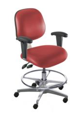 BioFit chairs and stools help protect workers from the musculoskeletal disorders and repetitive motion injuries that can occur when workers are unable to change their position for long periods of time