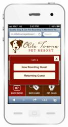 Olde Towne Pet Resort caters to on-the-go pet parents seeking easy mobile access to resort pet cams from a variety of handheld devices.