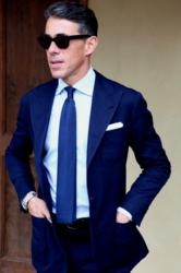 Indigo Blue Made the List of Top Winter Colors for Men