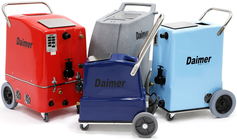 Daimer Unveils Steam Carpet Cleaner For Cleaning Fabric Upholstery And Carpets In Buses Globally